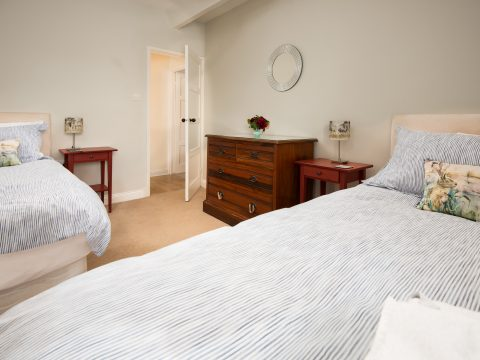 Skylark twin bedroom